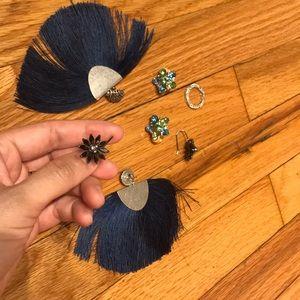 Jewelry - Bundle Lot Jewelry Ring Statement Earringns
